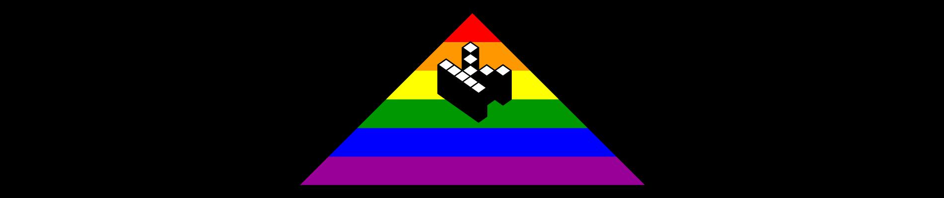 Kopimi rainbow logo