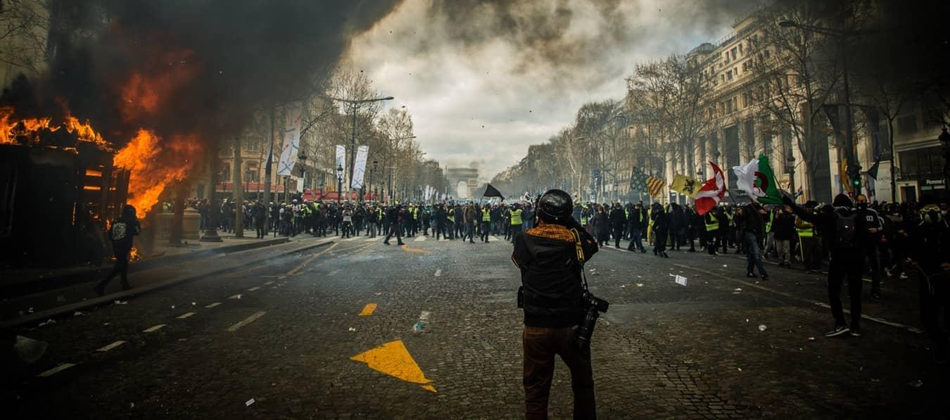 Acte VI des Gilets Jaunes - Champs-Élysées